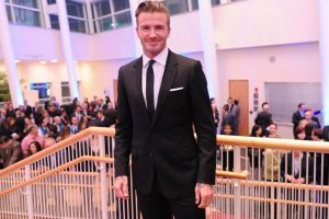 David Beckham reveals secret to his and Victoria's marriage