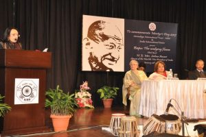 Celebrating Mahatma Gandhi – 'The Undying Flame'