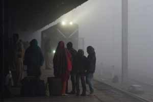 Foggy Saturday morning in Delhi, 64 trains delayed