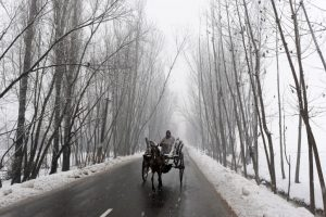 Kargil records lowest temperature in J&K