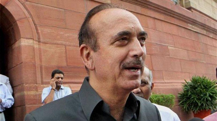 Ghulam Nabi Azad, Congress, Jammu and Kashmir