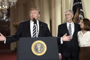 Trump picks Neil Gorsuch as Supreme Court Justice