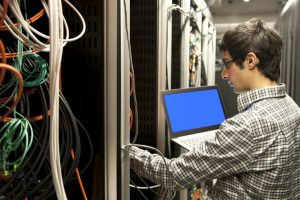 Infrared may be used in data centres