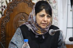 Mehbooba snubs preacher for seeking another division of India on religious lines