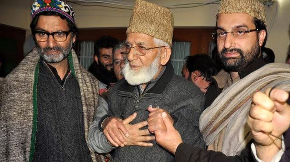Dineshwar Sharma, separatist leader, Syed Ali Geelani, talks offer
