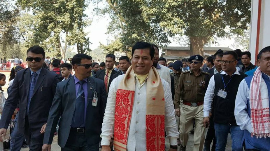 Assam Chief Minister, Sarbananda Sonowal, Corruption, Narendra Modi, black money, UPA government, government employees, Vigilance Cell