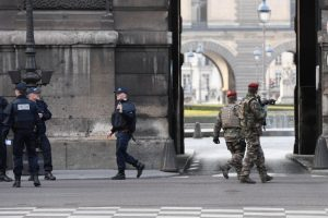 French soldier shoots knife attacker near Louvre