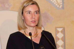 EU does not believe in walls, bans: Mogherini