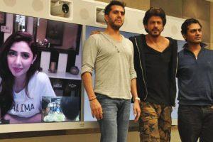 Mahira Khan promotes 'Raees' virtually