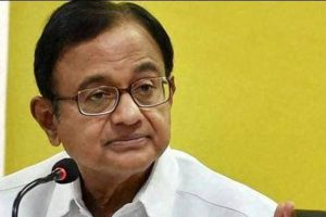 Chidambaram says his take on growth rate cut has come true