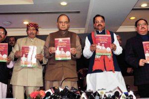 BJP releases vision document for Uttarakhand