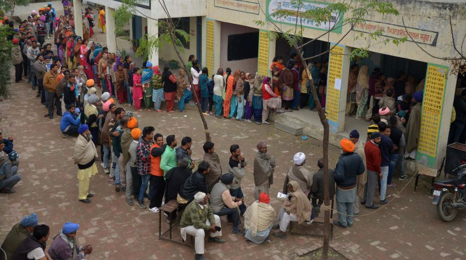 Voting, Punjab elections, municipal elections