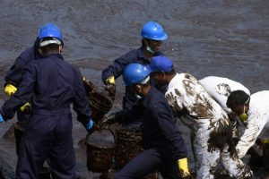 NGT seeks response of Centre, others on oil spill off Tamil Nadu coast