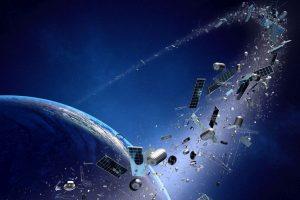 'Space probe fails to remove space debris'