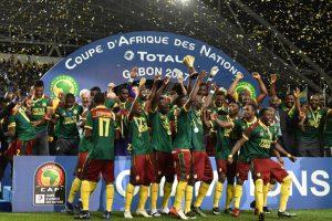 Cameroon final contestant at 2017 Confederations Cup
