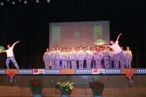 Delhi students celebrate diversity with Chinese students