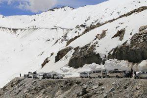 Jammu-Srinagar highway opens partially