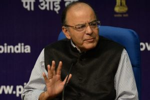 Democracy liberal enough in UK for defaulters to stay: Jaitley