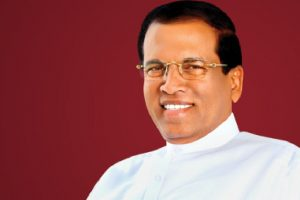 Sri Lankan President prays at Tirumala temple