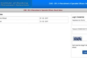 IBPS SO (Specialist Officer) VI results 2017 announced at www.ibps.in | Check results/score now