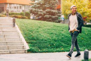 Brisk walk blocks work frustrations