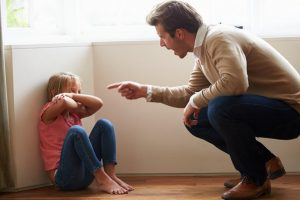 Harsh parenting may affect kid's academics