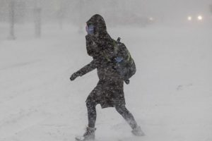 Powerful winter storm affects Northeast US
