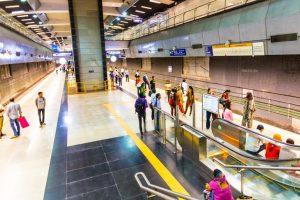 Jor Bagh Metro station showcases Mughal era sites