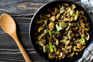 Yum-Yum Stir Fried Mushroom