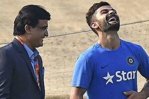 I have seen Tendulkar, Dravid and Dhoni, but Kohli is genuinely great: Sourav Ganguly