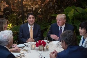 Trump: US-Japan ties are 'cornerstone of peace'