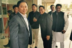 Manipur Congress leader Phungzathang joins National People's Party