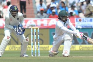 Hyderabad Test: Rahim, Hasan steady Bangladesh after early jolts on Day 3