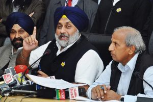 Congress evading discussion on farmer loans: SAD