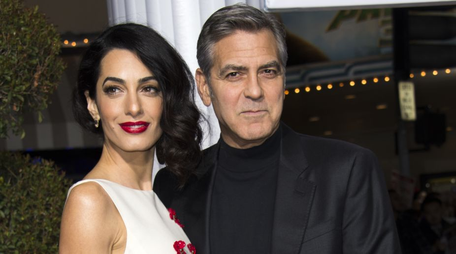 George, Amal Clooney to spend over $1 mn on delivery - The Statesman