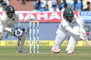 Hyderabad Test, Day 4: Bangladesh all out for 388, India don't enforce follow on