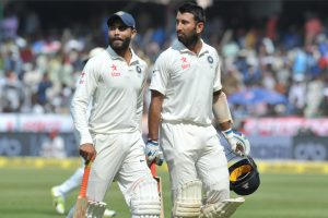 Hyderabad Test, Day 4: India declare, set Bangladesh target of 459