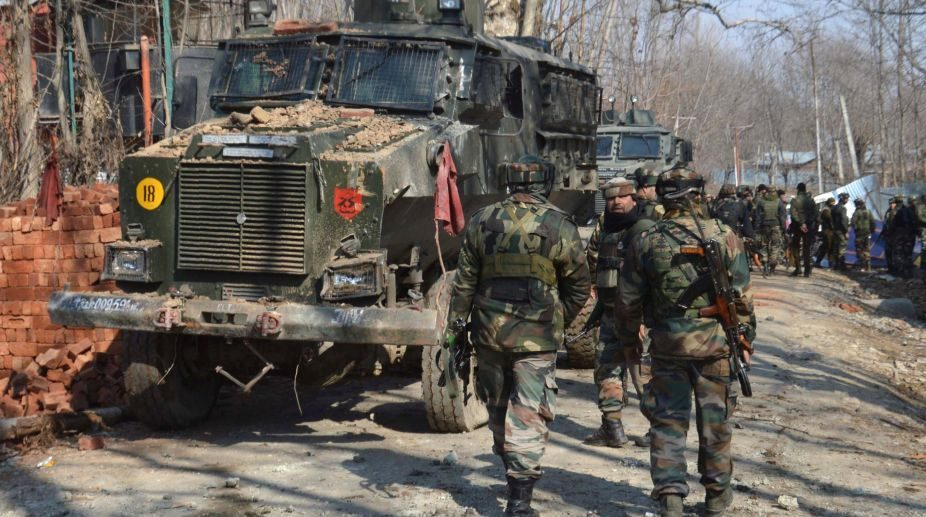 Militants, IAF station, security forces