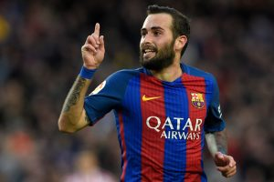 Barcelona defender Aleix Vidal undergoes ankle surgery