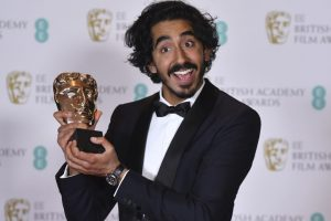 Dev Patel charms with his funny speech after Bafta win