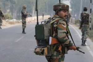 Army jawan arrested for carrying grenades out on bail
