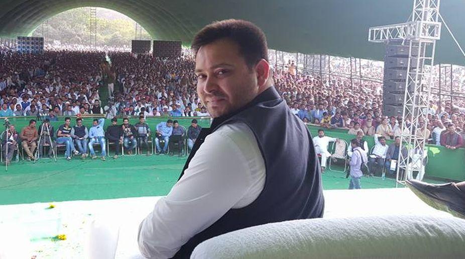 RJD leader, Tejashwi Yadav