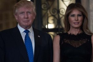 VIDEO | Melania 'swats' it away again, but Donald Trump finally gets to hold her hand