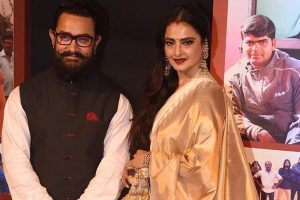 Rekha's gesture made Aamir emotional