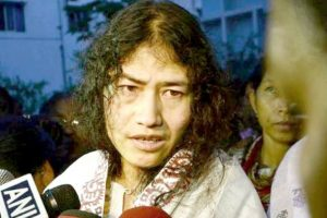 Sharmila files papers from Manipur's Thoubal seat