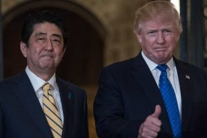 Trump meets Japanese Emperor, discusses N Korea with Abe