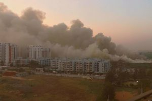 Bellandur Lake fire: Residents rage on Twitter