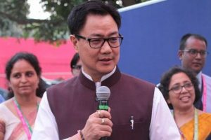 Rijiju lays foundation stone for NIDM building