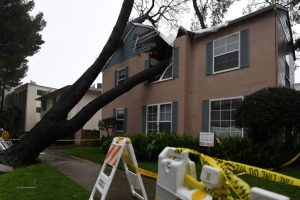 1 dead, others stranded as storm lashes California