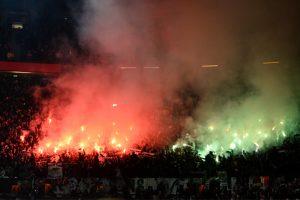 UEFA starts probe against St Etienne over incidents at Old Trafford